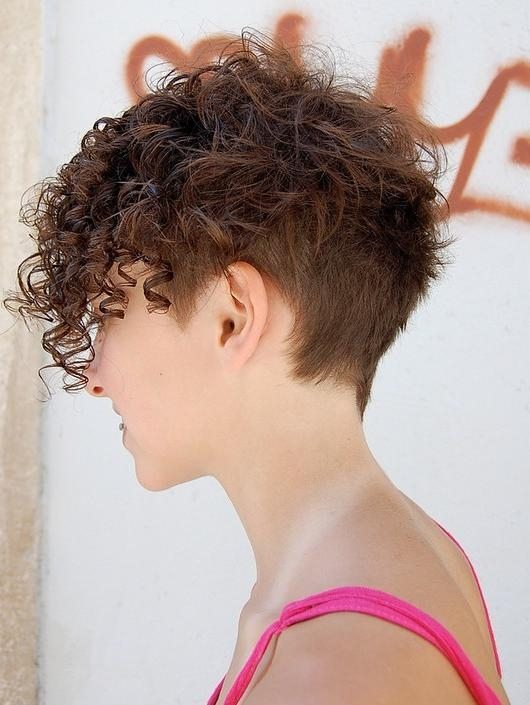 20 Short Curly Hairstyles For 2014: Best Curly Hair Cuts – Pretty Throughout Trendy Short Curly Hairstyles (View 5 of 15)