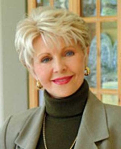 20 Short Hair Styles For Over 50 | Short Hairstyles 2016 – 2017 For Short Hairstyles For Women Over 50 With Straight Hair (Gallery 15 of 15)