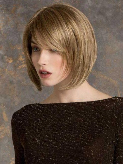 20 Short Haircuts For Oval Face | Short Hairstyles & Haircuts 2017 With Regard To Short Bobs For Oval Faces (View 3 of 15)