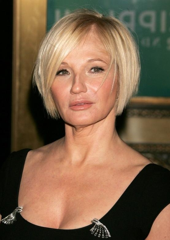 20+ Short Haircuts For Women Over 50 – Pretty Designs Pertaining To Short Bob Hairstyles For Over 50S (View 2 of 15)