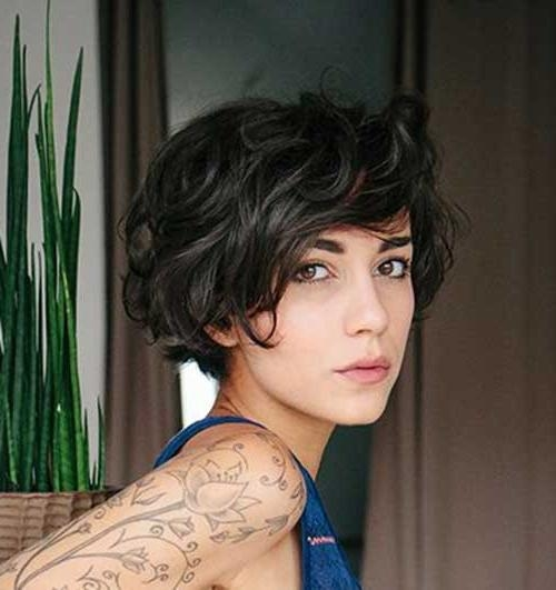 20 Short Hairstyles For Wavy Fine Hair | Short Hairstyles 2016 With Regard To Short Fine Curly Hair Styles (View 12 of 15)