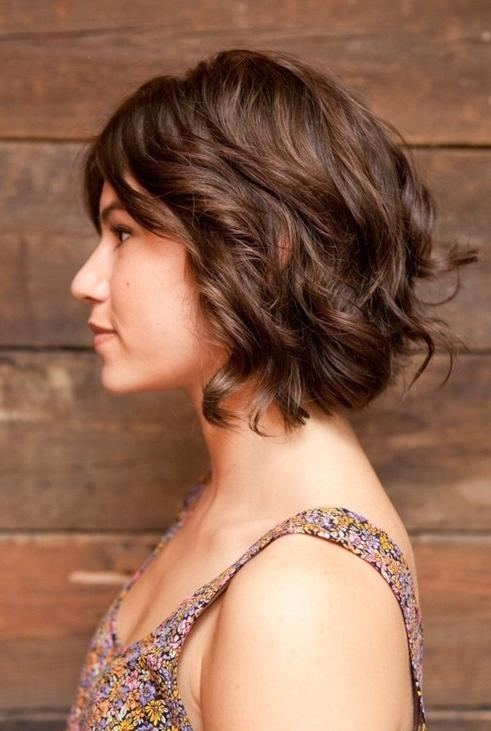 15 Best Of Short Hairstyles For Thick Wavy Hair 2014