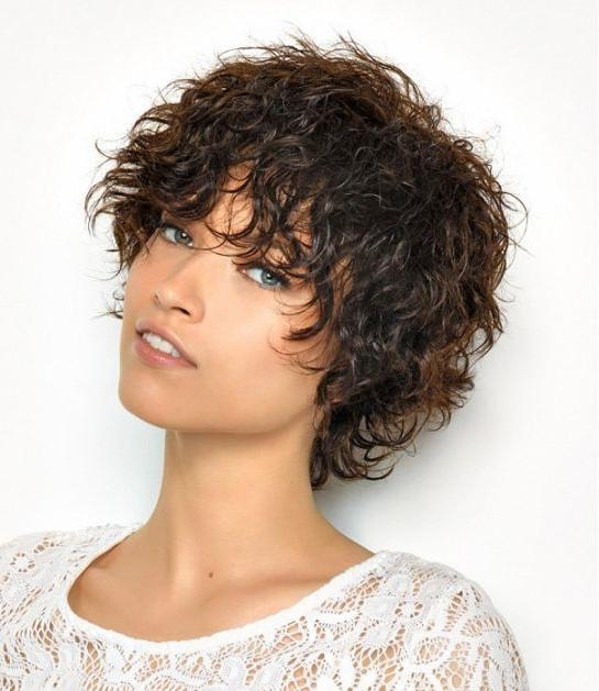 Featured Photo of Edgy Short Curly Haircuts