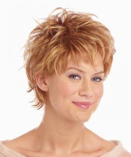 204 Best Short Hairstyles / Women Over 50 Images On Pinterest Regarding Short Cuts For Over  (View 4 of 15)