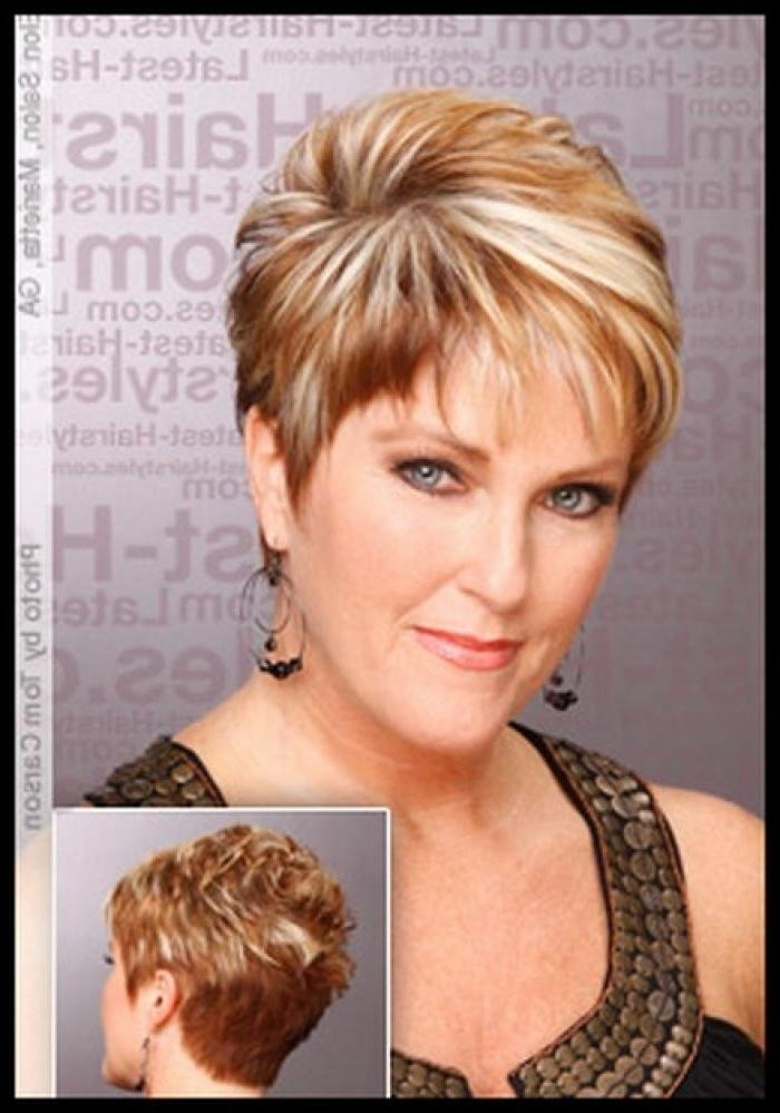 204 Best Short Hairstyles / Women Over 50 Images On Pinterest Regarding Short Hairstyle For 50 Year Old Woman (View 1 of 15)