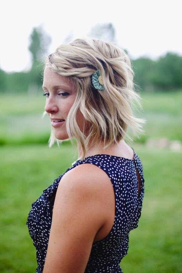 209 Best Hair Styles Short Images On Pinterest | Hairstyles Intended For Cute Wedding Hairstyles For Short Hair (View 15 of 15)