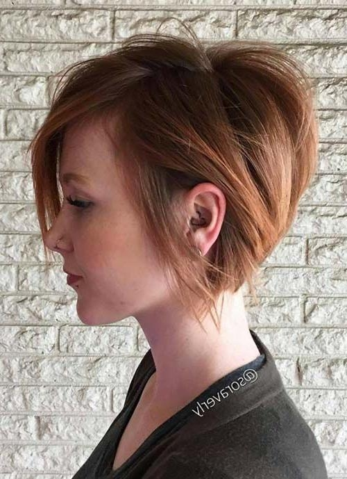 22 Hottest Short Hairstyles For Women 2018 – Trendy Short Haircuts Pertaining To Short Female Hair Cuts (View 2 of 15)