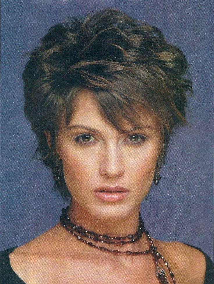220 Best Short Hairstyles Images On Pinterest | Hairstyles, Short Pertaining To Short Haircuts For Women Over 40 With Curly Hair (View 11 of 15)