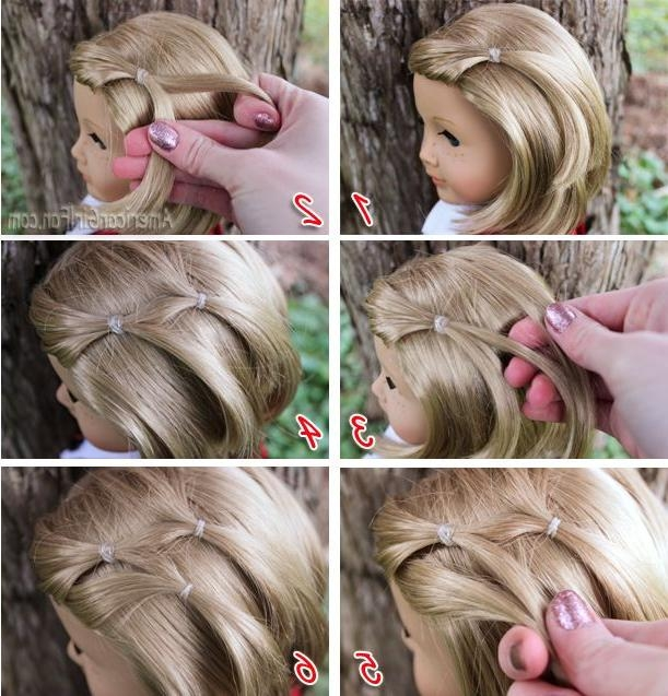 23 Best American Girl Hair Styles Images On Pinterest | Doll Regarding Cute American Girl Doll Hairstyles For Short Hair (View 9 of 15)