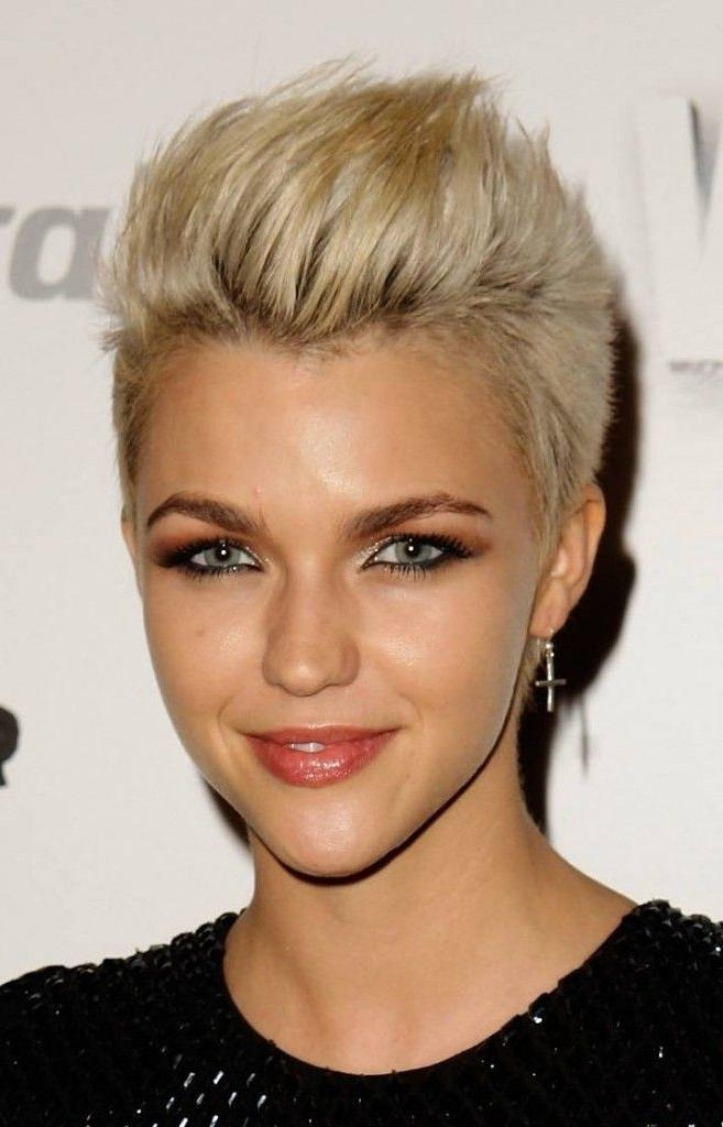 23 Best Short Edgy Hair Styles Images On Pinterest | Hair With Regard To Short Edgy Haircuts For Girls (View 3 of 15)