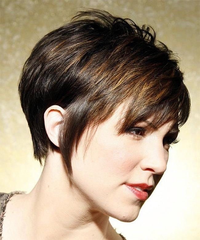 23 Best Short Haircuts Images On Pinterest | Hairstyles, Short For Short Hairstyles For Long Faces Over (View 9 of 15)
