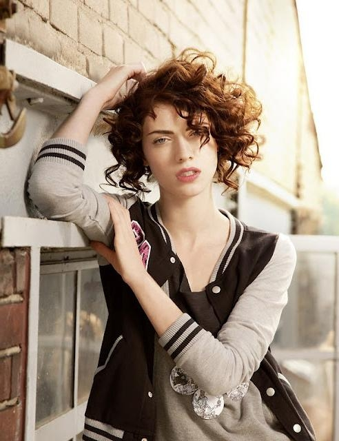 23 Brave Wavy Short Hair Tumblr – Wodip Throughout Short Curly Haircuts Tumblr (View 5 of 15)