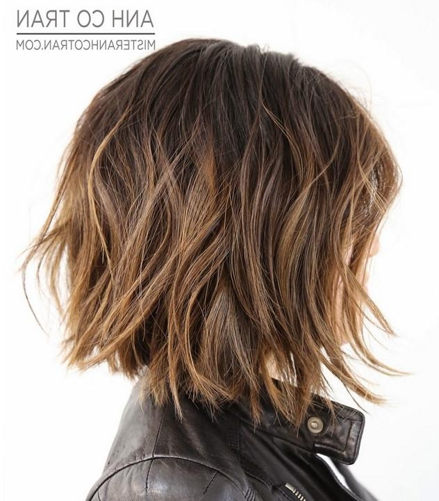 23 Cute Bob Haircuts & Styles For Thick Hair: Short, Shoulder Inside Short Length Hairstyles For Thick Hair (View 4 of 15)