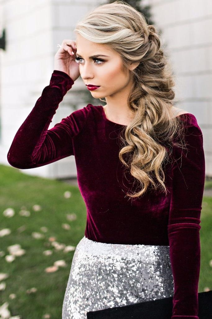 25+ Best Party Hair Ideas On Pinterest | Formal Hair, Pretty Intended For Short Hairstyles For Christmas Party (View 2 of 15)