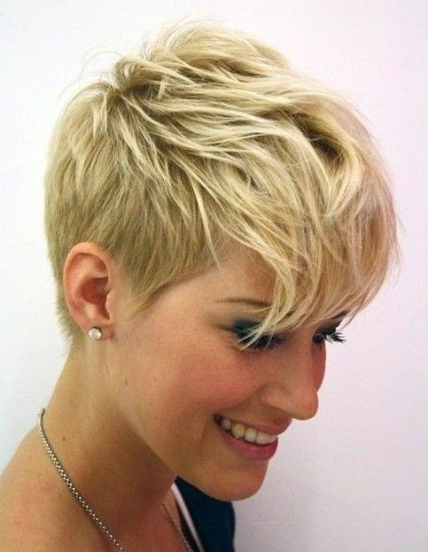 25+ Best Really Short Haircuts Ideas On Pinterest | Really Short Pertaining To Really Cute Hairstyles For Short Hair (View 4 of 15)