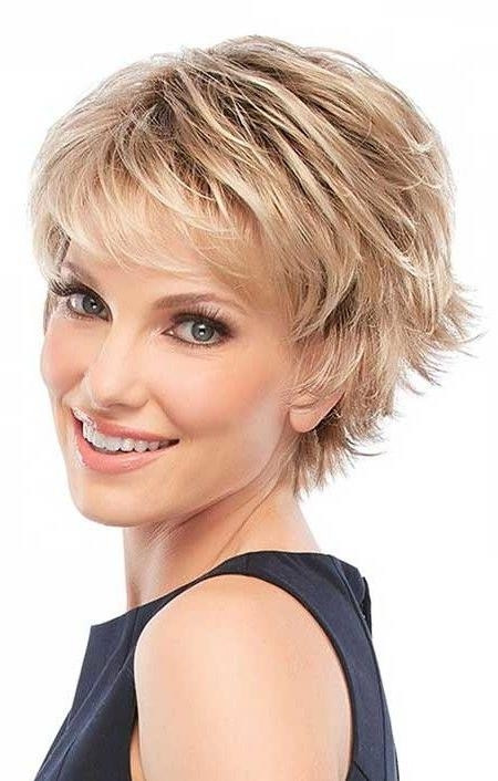 25+ Best Short Shaggy Haircuts Ideas On Pinterest | Short Shaggy Regarding Short Medium Shaggy Hairstyles (View 5 of 15)