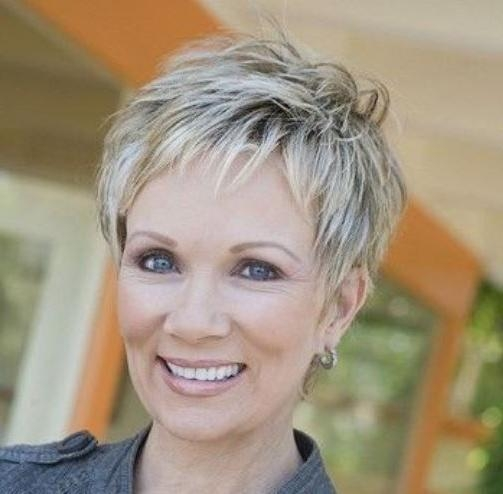 25 Gorgeous Short Hairstyles For Women Over 50 – Hottest Haircuts For Short Haircuts Women Over (View 13 of 15)