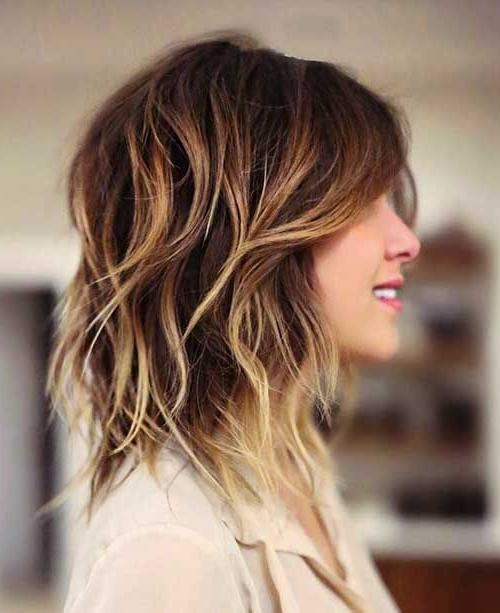 25 Most Superlative Medium Length Layered Hairstyles – Hottest With Regard To Long Hair Short Layers Hairstyles (View 3 of 15)