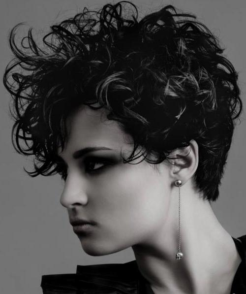 25 Pictures Of Trendy Short Haircuts 2012 2013 | Short Hairstyles Within Trendy Short Curly Hairstyles (View 6 of 15)