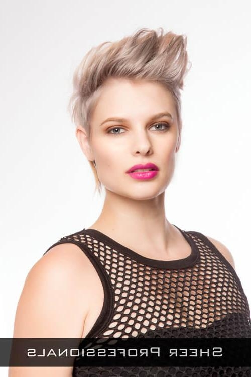 Featured Photo of Super Short Hairstyles For Round Faces