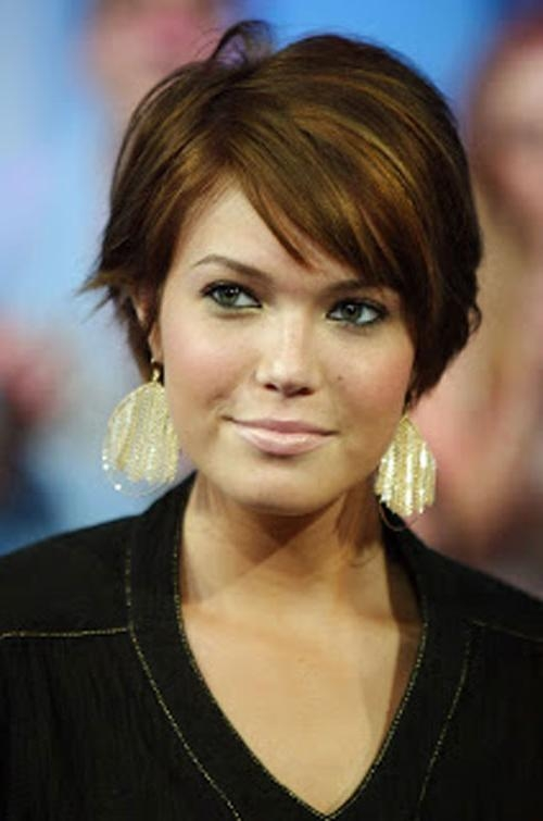 25 Wonderful Short Hairstyles For Chubby Faces – Cool & Trendy In Short Hair Chubby (View 5 of 15)