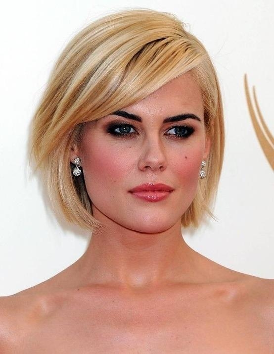 26 Best Short Haircuts For Long Face – Popular Haircuts For Short Haircuts For Thin Faces (View 7 of 15)
