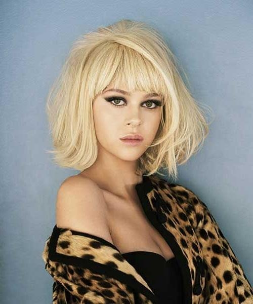 270 Best Frisuren Images On Pinterest | Hairstyles, Short Hair And Intended For Short Blonde Hair With Bangs (View 14 of 15)
