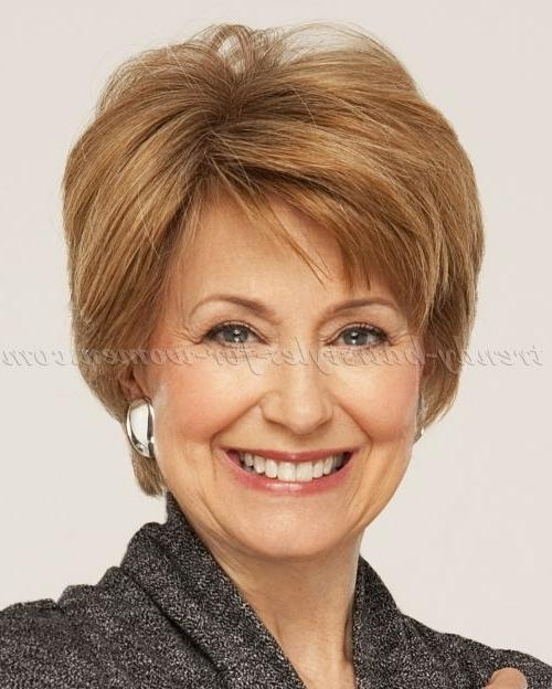 284 Best Hairstyles For Women Over 50 Images On Pinterest For Medium Short Haircuts For Women Over (View 6 of 15)
