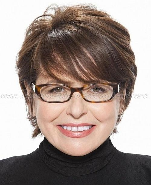 haircuts for 50 with glasses 15 best collection of hairstyles for 50 2857