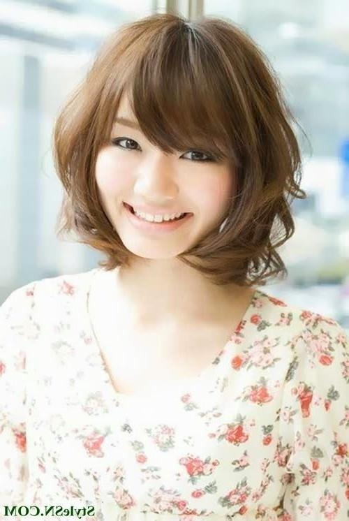 29 Best Short Asian Hairstyles Images On Pinterest | Hairstyles Pertaining To Short Hairstyles For Asian Girl (View 5 of 15)