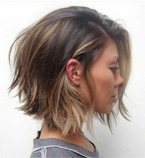 296 Best Hair Semi Short Images On Pinterest | Hairstyles, Hair In Semi Short Layered Hairstyles (View 6 of 15)