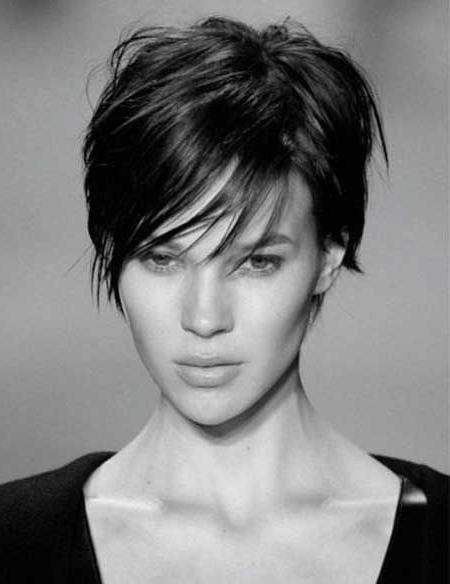 30 Amazing & Refreshing Super Short Haircuts For Women – Pretty Within Short Hairstyles For Brunette Women (View 5 of 15)