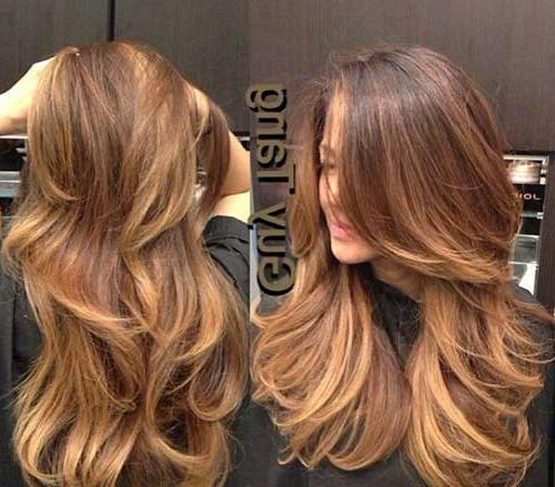 30 Best Long Haircuts With Layers   Long Hairstyles 2016 – 2017 In Long And Short Layers (View 2 of 15)