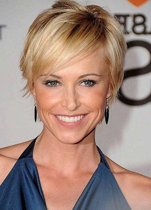 Photo Gallery of Short Hairstyle For Over 40 (Viewing 2 of 15 Photos)