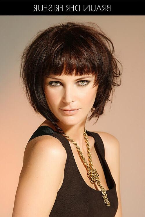 30 Go To Short Hairstyles For Fine Hair Pertaining To Short Hairstyles With Bangs For Fine Hair (View 5 of 15)