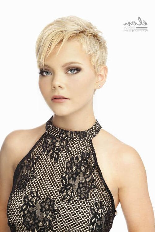30 Go To Short Hairstyles For Fine Hair Throughout Trendy Short Haircuts For Fine Hair (View 8 of 15)