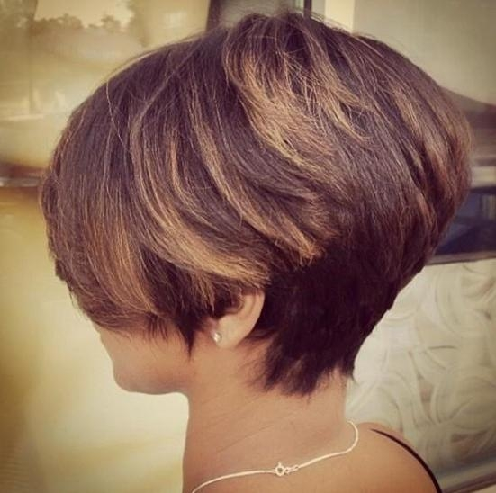 30 Latest Short Hairstyles For Winter – Popular Haircuts With Regard To Latest Short Hairstyles For Ladies (View 4 of 15)