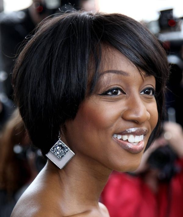 30 Short Hairstyles For Black Women With Regard To Short Layered Hairstyles For Black Women (View 14 of 15)