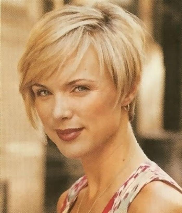 31 Best Pixie Haircut Images On Pinterest | Hairstyle, Hairstyle Intended For Short Hairstyles For Women Over 40 With Thin Hair (View 5 of 15)