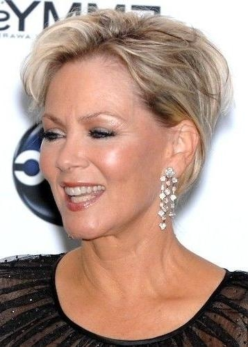 35 Pretty Hairstyles For Women Over 50: Shake Up Your Image & Come With Short Hairstyles For Ladies Over  (View 6 of 15)