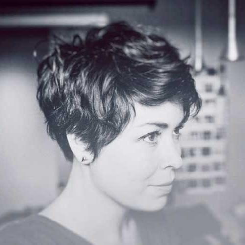 Featured Photo of Ladies Short Hairstyles For Thick Hair