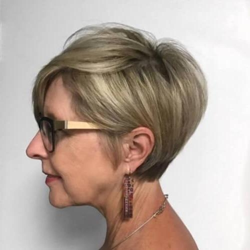 37 Chic Short Hairstyles For Women Over 50 For Short Hairstyles For Women Over 50 With Straight Hair (View 7 of 15)