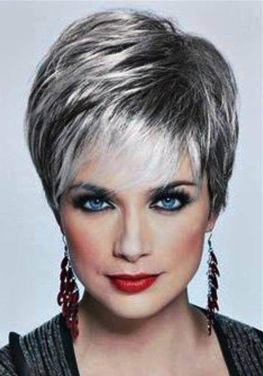 389 Best Over 60 Hairstyles Images On Pinterest | Hairstyles With Short Haircuts For 60 Year Old Woman (View 4 of 15)