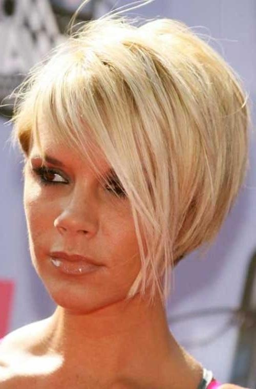 40+ Good Short Blonde Hair | Hairstyles & Haircuts 2016 – 2017 In Short Blonde Hair With Bangs (View 6 of 15)