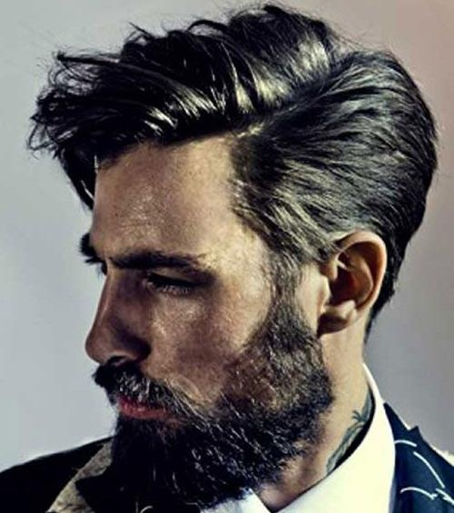 43 Medium Length Hairstyles For Men | Men's Hairstyles + Haircuts 2017 Intended For Short To Medium Hairstyles For Men (View 4 of 15)
