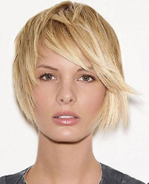 44 Unique Short Hairstyles For Oval Faces – Cool & Trendy Short Inside Short Bobs For Oval Faces (View 8 of 15)
