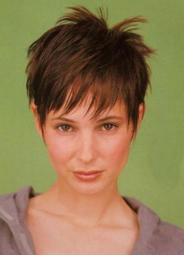 443 Best Short Hair! Images On Pinterest | Pixie Haircuts In Cute Hairstyles For Short Thin Hair (View 10 of 15)