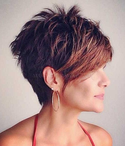 468 Best Sexy Short Hair Styles Images On Pinterest | Hairstyles For Short Trendy Hairstyles For Women (View 5 of 15)
