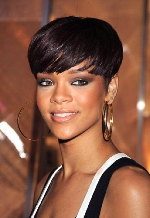 50 Best Short Haircuts For Black Women / African Americans | Cruckers Throughout Short Hairstyles For Black Women With Oval Faces (View 4 of 15)