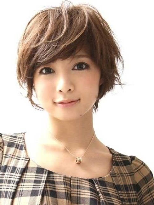 50 Incredible Short Hairstyles For Asian Women To Enjoy For Korean Girl Short Hairstyle (View 5 of 15)